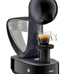 coffee machine black with cup