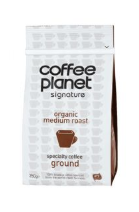 Coffee Planet 100% Arabica ORGANIC UTZ Ground, 250gm