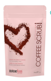 MineTan Coffee Scrub 200g