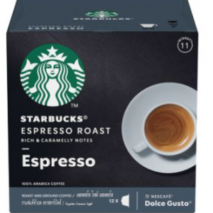 Starbucks Espresso Roast By Nescafe Dolce Gusto Dark Roast Coffee