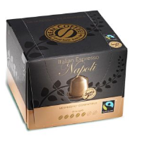 Real Coffee Italian Espresso Napoli 100 Coffee Capsules Nespresso Compatible