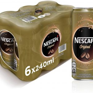 Nescafe Ready To Drink Original Chilled Coffee Can 240ml