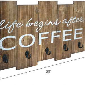 Barnyard Designs Life Begins After Coffee Mug Holder