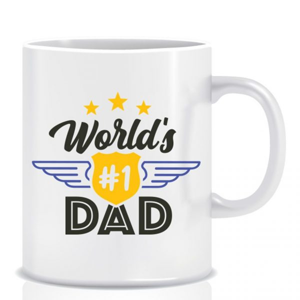 Twinkle Hands Father Day Mug
