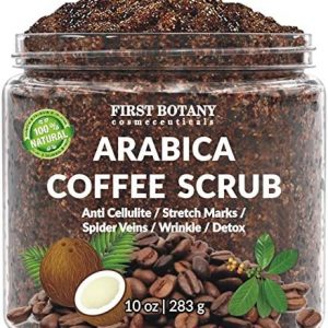 100% Natural Arabica Coffee Scrub with Organic Coffee,
