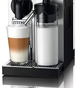 Nespresso Lattissima Pro Me Brush Aluminium Coffee Machine, F456-ME-PR-NE, Silver
